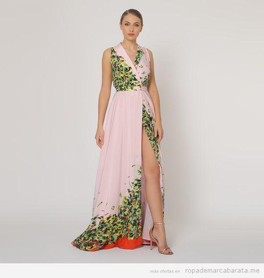 Maxi Vestido marca Dolores Promesas barato, outlet 3