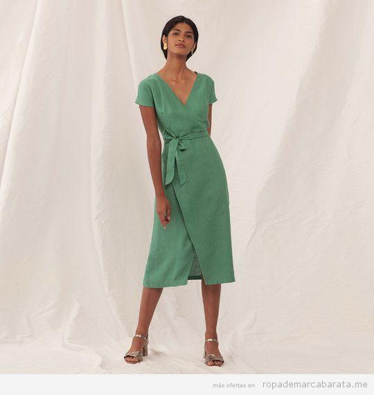 Vestido verde marca Nice Things barato
