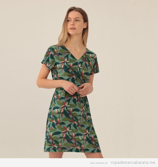 Vestido estampado marca Nice Things barato
