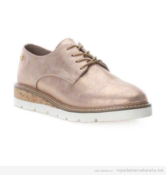 Zapatos derbies marca Xti baratos, outlet