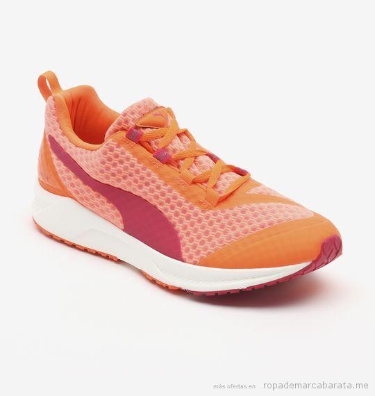 Zapatillas de deporte de mujer marca Puma baratas, outlet 3