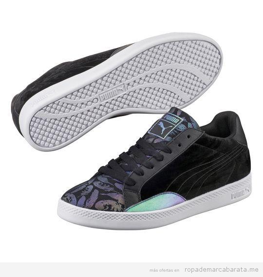 Zapatillas de deporte de mujer marca Puma baratas, outlet