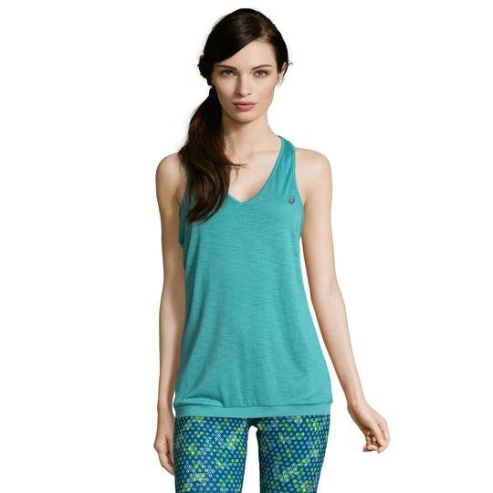 Camiseta deporte mujer marca Ascis barata, outlet