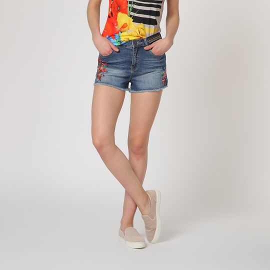 Shorts marca Desigual baratos, outlet