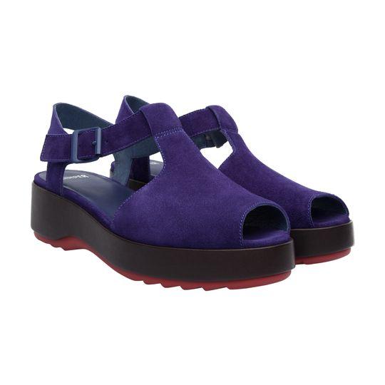 Sandalia de plataforma marca Camper baratas, outlet