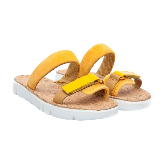 Sandalia planas marca Camper baratas, outlet