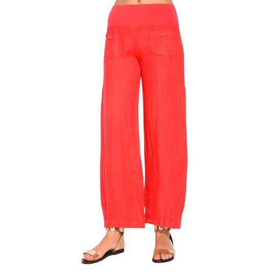 Pantalón de lino barato