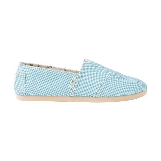Alpargatas marca Paez baratas color azul