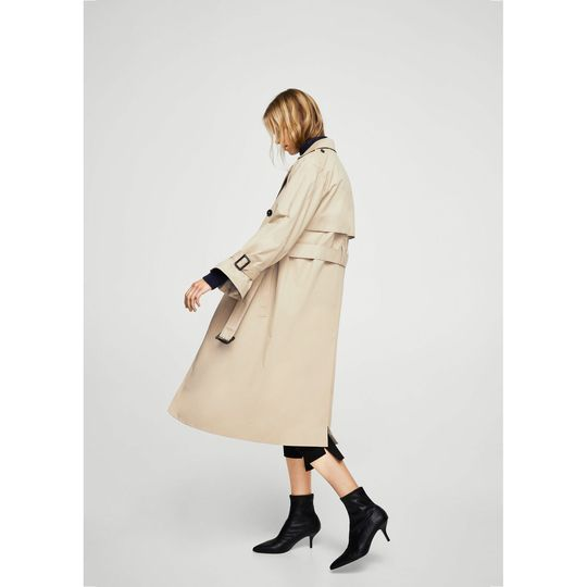 Trench marca Mango barato, outlet