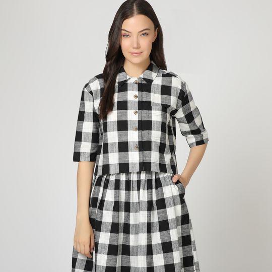 Camisa y falda cuadros marca Pepa Loves baratas
