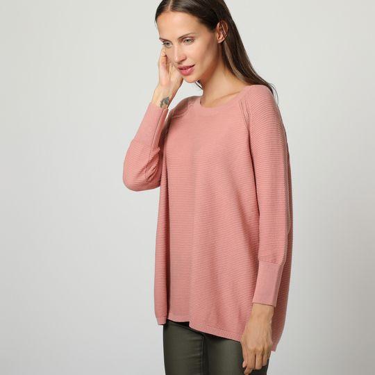 Jersey rosa canalé marca Vero moda barato