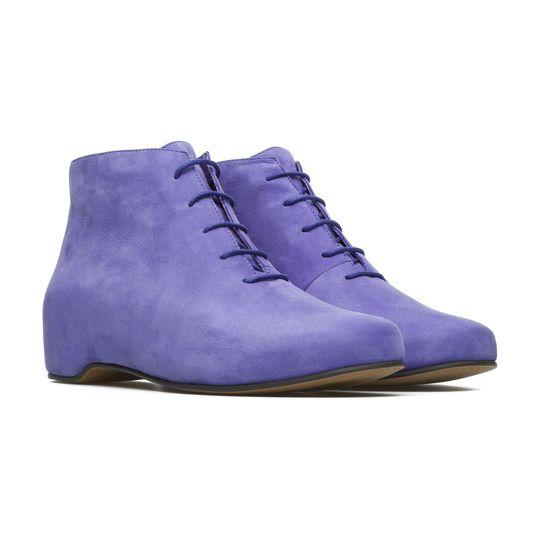 Botines violeta marca Camper baratos, outlet 2
