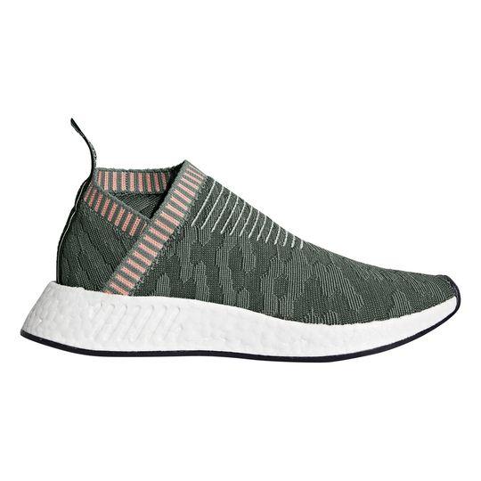 Zapatillas de deporte marca Adidas Sneakers Nmd Primeknit Boost™ Verde Y Rosa