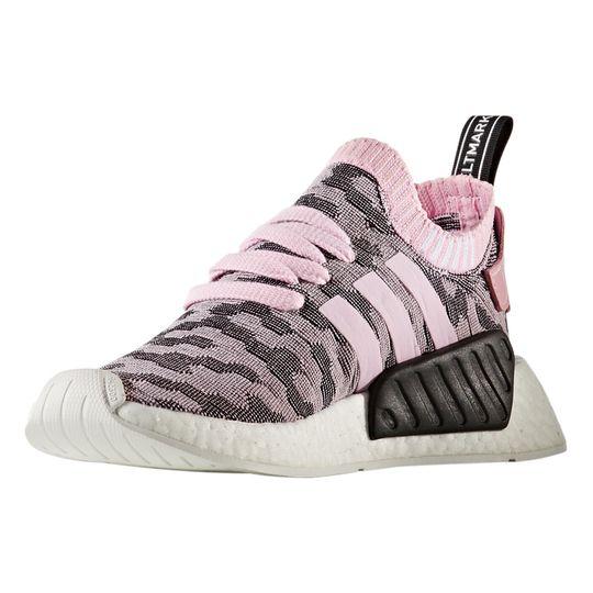 Zapatillas de deporte marca Adidas Sneakers Nmd_R2 Primeknit Boost™ Ligero Rosa Y Gris