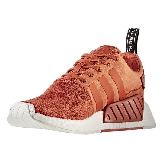 Zapatillas de deporte marca Adidas Sneakers Nmd_R2 Boost™ Naranja Y Blanco