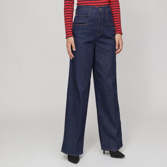 Pantalones vaqueros marca Armani Jeans corte ancho baratos, outlet