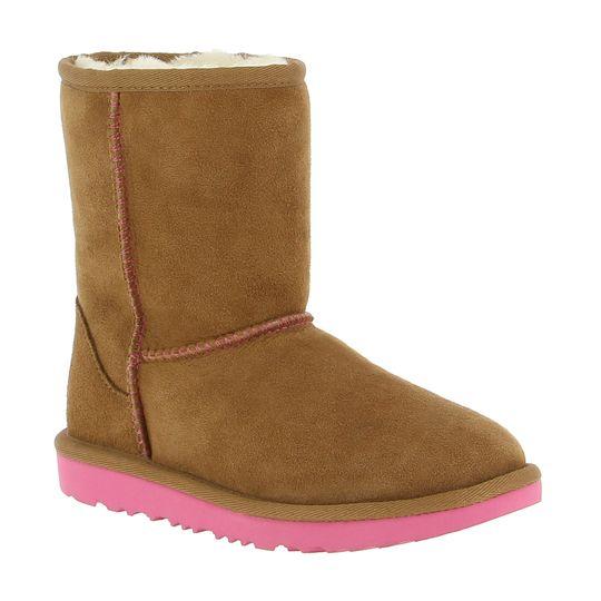 Botas Ugg baratas camel suela rosa