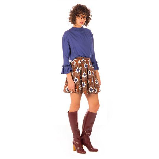 Ropa marca Minueto barata, blusa y falda flores