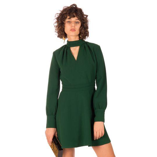 Ropa marca Minueto barata, vestido verde