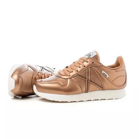 Zapatillas marca Munich mujer cobre