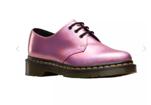 Zapatos Dr. Martens rosas baratos