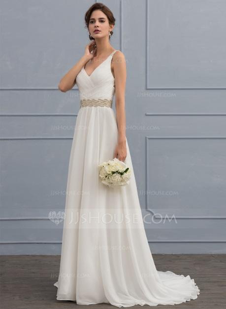 Vestido de novia barato 4