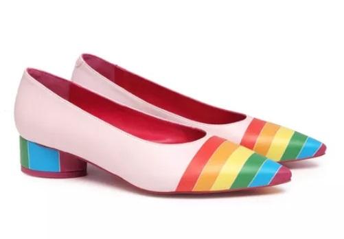 Zapato De Salón AGATHA RUIZ DE LA PRADA - piel Rosa