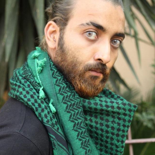 Shemagh verde para hombre