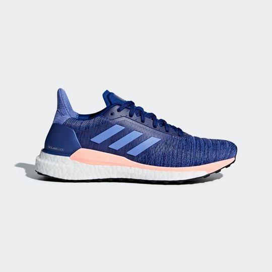 Zapatillas De Running Adidas mujer Solar Glide W Azul Y Rosa