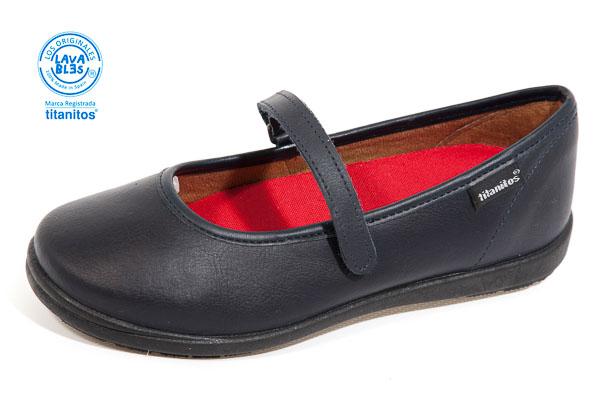 Zapatos niña colegio merceditas