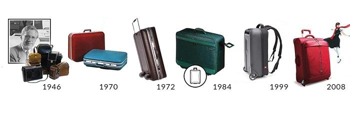 Cronología historia maletas Desley