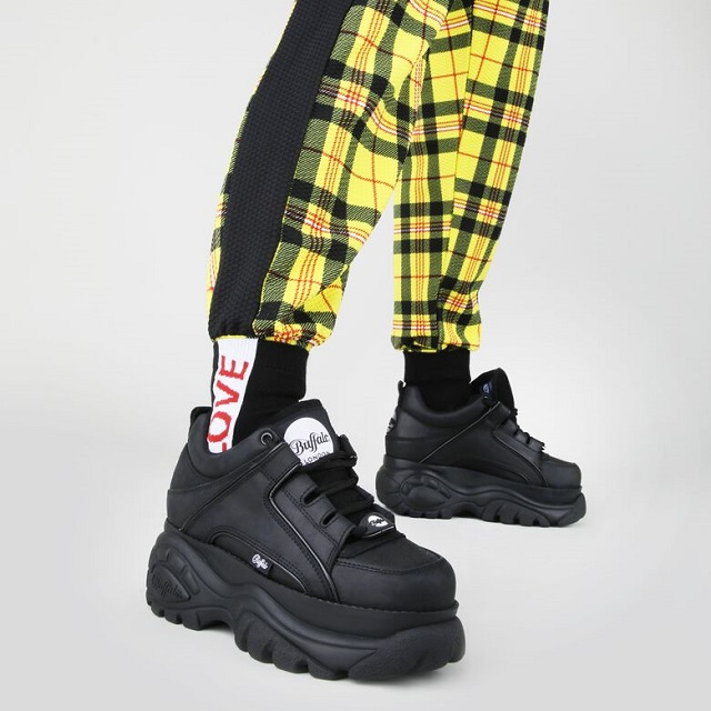 Sneakers Buffalo London negras