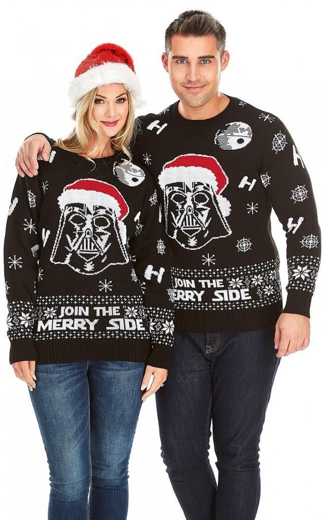 Jersey navideño Papa Noel Darth Vader