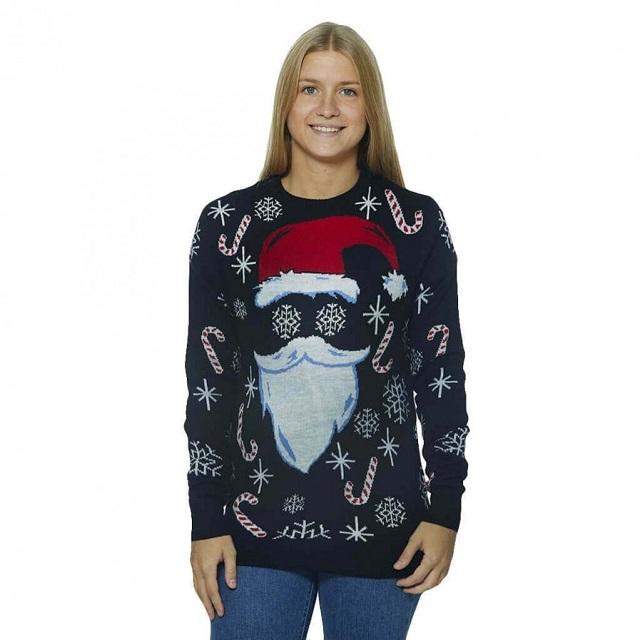 Jersey navideño Papá Noel Hipster