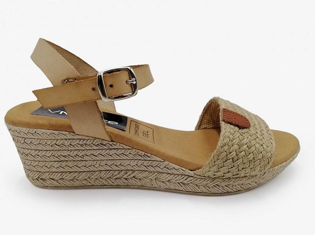 Sandalias de cuña cómodas