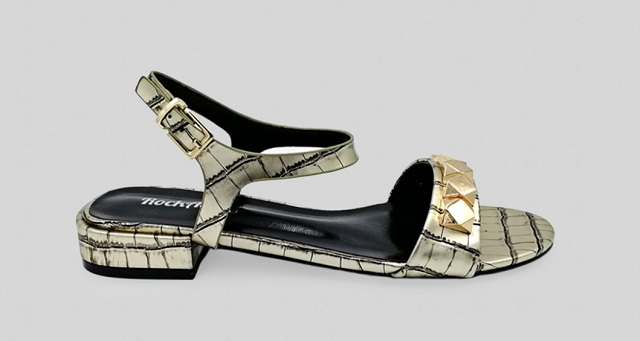 Sandalias de tacón bajo cómodas