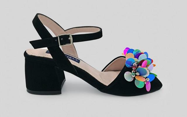 Sandalias de tacón medio cómodas